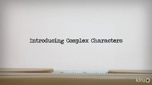 Creating Complex Characters Video Thumbnail