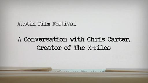 A Conversation With Chris Carter, Creator Of The X-Files Video Thumbnail