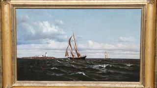 Appraisal: 1874 Francis A. Silva Oil
