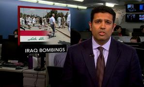 News Wrap: Explosions in Iraq Stokes Fears of Violence