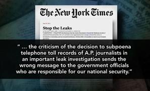 How Far Should Government Go in Investigation of Leaks?