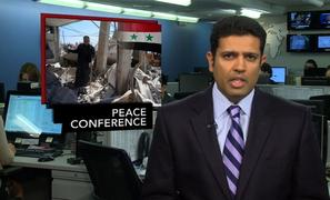 News Wrap: Russia Says Syria Has Agreed to Peace Conference