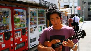 Life on Four Strings: Jake Playing in the Streets of Tokyo