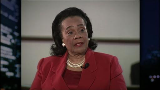 Civil rights activist Coretta Scott King Video Thumbnail