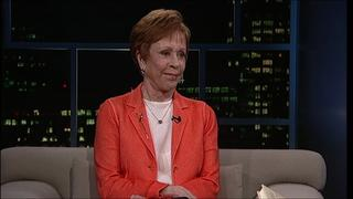 Actress-comedienne Carol Burnett