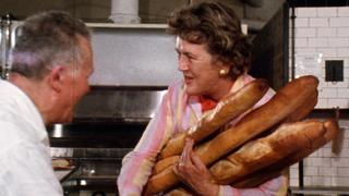 Julia Child Compares Baguettes