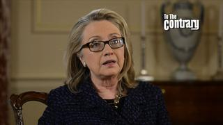 Hillary Clinton on To the Contrary This Week
