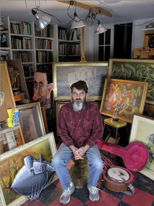 Artist Wayne White's 5 Tips for Flea Market Shopping