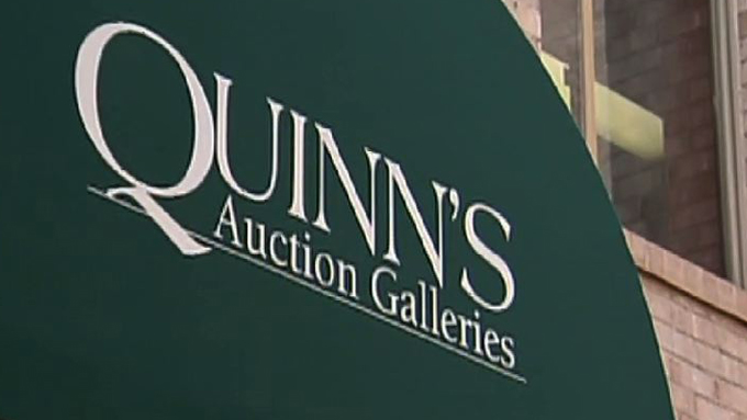 Auction Bargains with Quinn's Auction Galleries