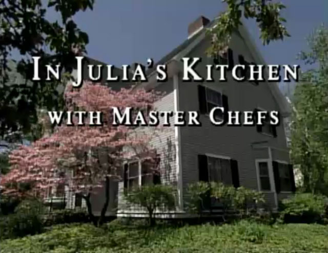 Get Recipes from In Julia's Kitchen with Master Chefs
