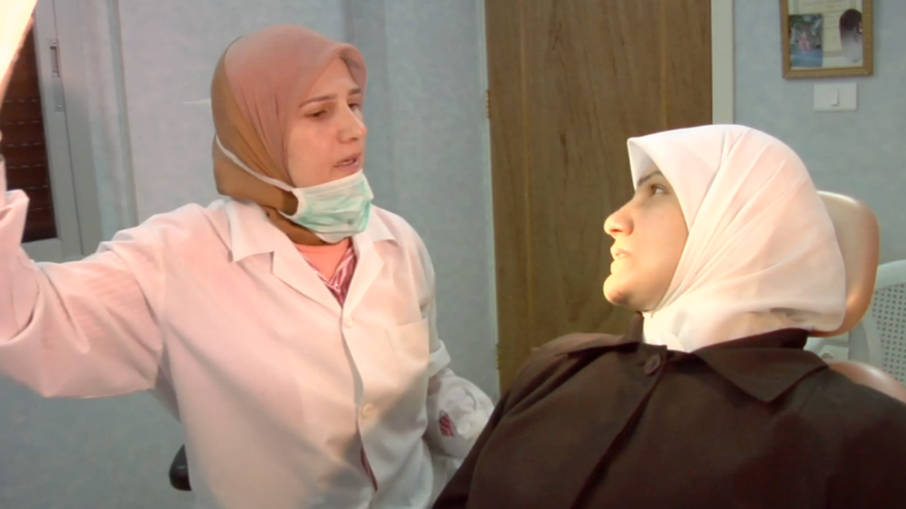 The Light in Her Eyes: Dr. Iman Al-Jabi