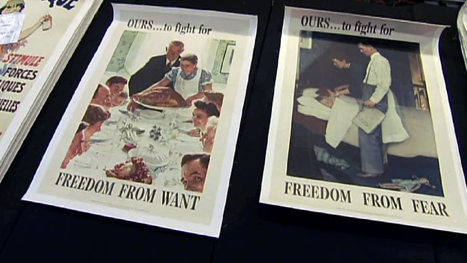 Inspiration for a Nation: Norman Rockwell&#39;s &quot;Four Freedoms&quot;