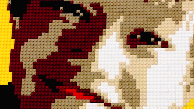 OFF BOOK: Lego Art